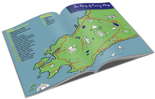 ring of kerry free guide book and map
