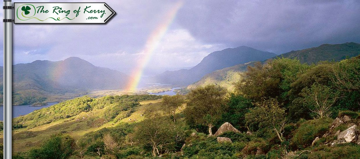 Ring of Kerry View with Rainbow