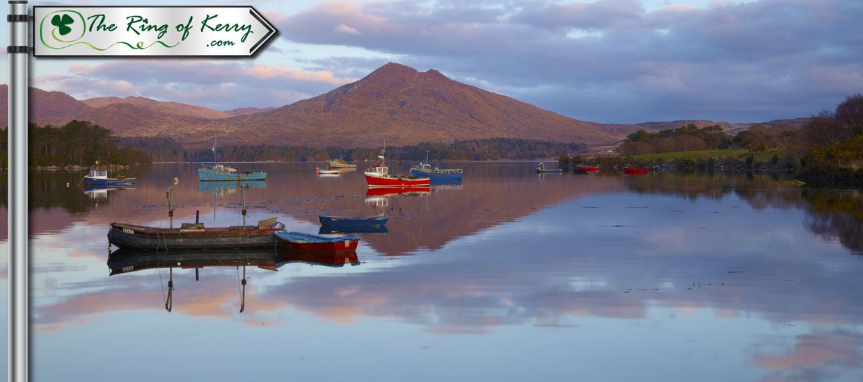 Boats on Lough Leane Killarney