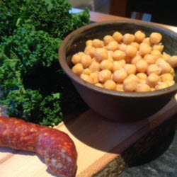 Chickpea, Chorizo and Kale Soup Recipe
